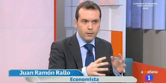 """Juan Ramón Rallo responde a UGT: """"No tiene sentido reivindicar la pluralidad de TVE y exigir que se vete a quienes pedimos que se privatice"""""""