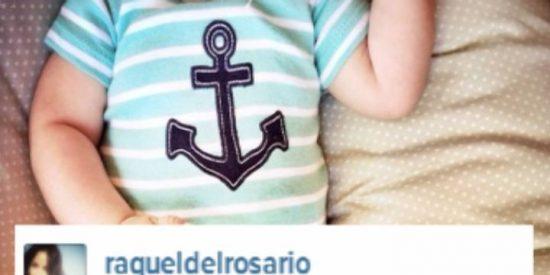 Raquel del Rosario una mamá feliz