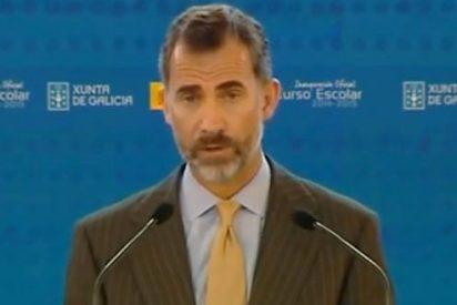 """El Rey Felipe VI urge """"aumentar la calidad"""" de la educación"""