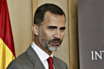 El Rey Felipe VI hace 'marca España', pese al conflicto catalán