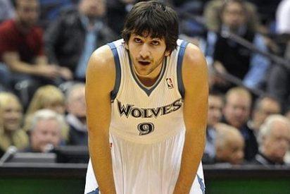 El 'bulling' de los Timberwolves a Ricky Rubio