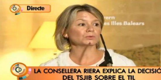 Núria Riera saca bandera blanca y deja en manos de los centros la aplicación del TIL