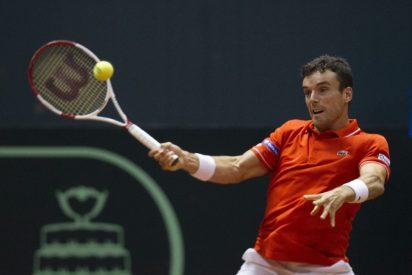 Copa Davis: Bautista aplastó a Dutra Silva y Andújar perdió una bola de 0-2