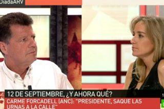 """Alfonso Rojo a Tania Sánchez: """"Tu apelación al pueblo soberano es la misma que hacía Hitler"""""""