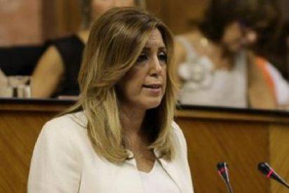 """Díaz denuncia """"acuerdos de trastienda"""" de Rajoy y Mas en perjuicio de Andalucía"""