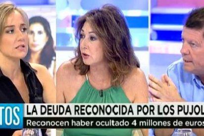 Ana Rosa y Rojo tiran de las orejas a Tania Sánchez por no hablar de la corrupción en Andalucía