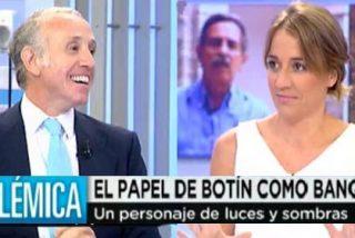 """Inda acorrala a Tania Sánchez: """"Hablas mucho del Santander pero las cajas que gobernabais, todas al carajo"""""""