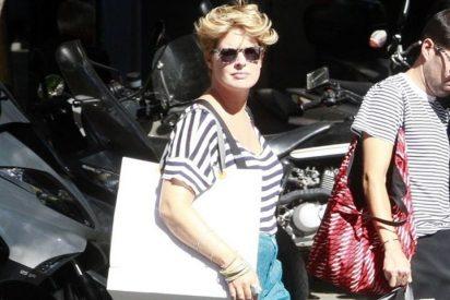 Tania Llaseras, perfecta tarde de compras para renovar su armario