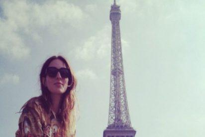 María Valverde disfruta de la ciudad del amor