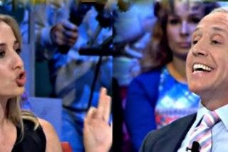 Eduardo Inda sacude a Tania Sánchez a cuenta de su novio Pablo Iglesias