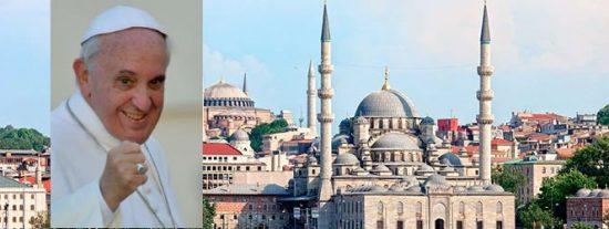 Francisco podría viajar a Turquía