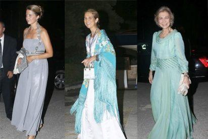 La Reina Sofía y la Infanta Elena, de lo más alegres en Grecia. Así vistan los Royals