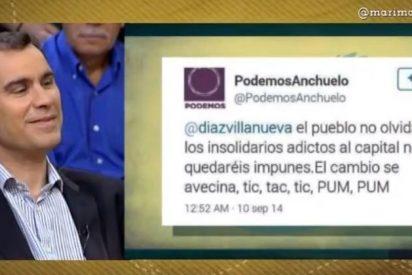 """Díaz Villanueva se toma a guasa las amenazas de 'Podemos Anchuelo': """"Estos son un poco 'mataos'"""""""