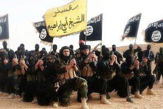 El Estado Islámico abre un 'cine del terror' al aire libre para asustar a la población