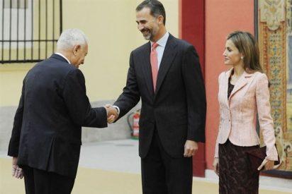 Los Reyes Don Felipe y Doña Letizia reciben al Patronato del Instituto Cervantes