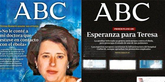 """ABC defiende la publicación de las fotos de Teresa Romero con mascarilla: """"Tienen especial valor en un asunto que genera gran inquietud"""""""
