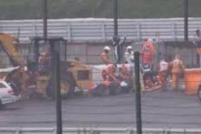 Bianchi lucha por su vida tras este espeluznante accidente