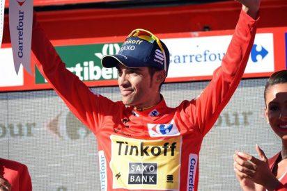 Contador 'regala' el número 1 de la UCI a Valverde