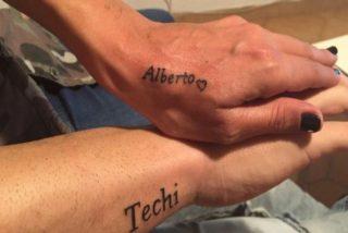 Alberto Isla y Techi, un amor plasmado en tatuajes