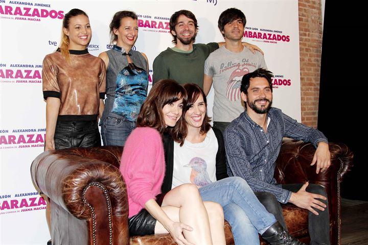 Alexandra Jiménez y Paco León protagonizarán juntos la comedia 'Embarazados'