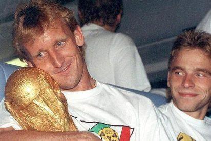 El futbolista Andreas Brehme ha pasado de campeón del mundo a limpiar inodoros