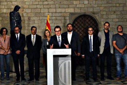Independentistas en Cataluña: Unidad ficticia ante el 9N