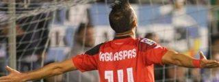 Iago Aspas se reivindica con un triplete en la victoria del Sevilla en Sabadell (1-6)