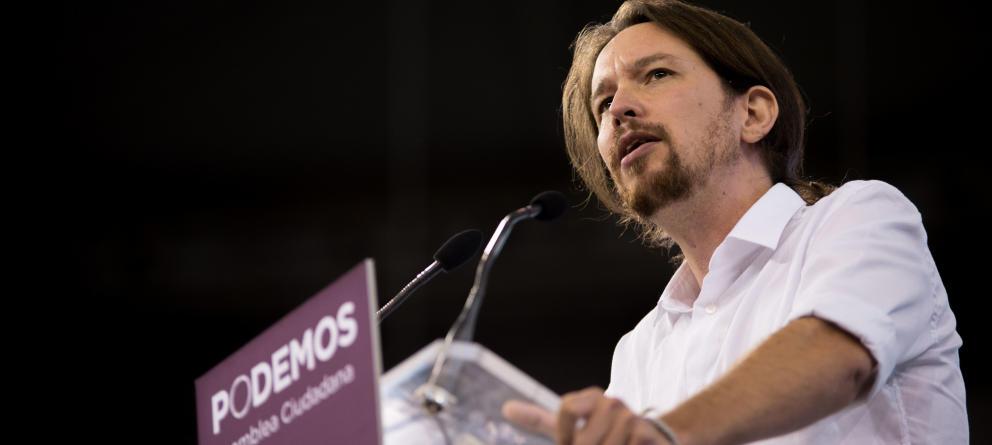Pablo Iglesias arrasa: Más del 80% de los votos lo convierten en secretario general de Podemos