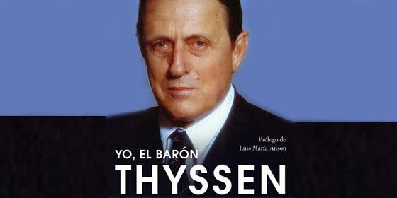 Tita Cervera lanza las memorias de película del Barón Thyssen en colaboración con su 'biógrafo' J. Antonio Olivar