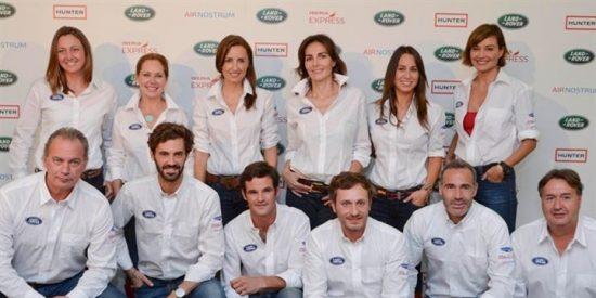 Bertín Osborne, Melani Costa o Juan Peña juntos en Land Rover Discovery Challenge