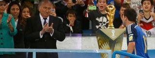 """Blatter la lía de nuevo: """"Fue incorrecto dar el Balón de Oro del Mundial a Messi"""""""