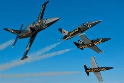El Breitling Jet Team alza el vuelo en Madrid