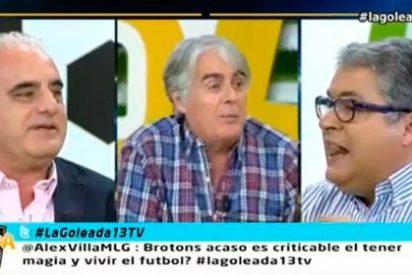 """José Joaquín Brotons la toma con San Martín, Bustos y Siro López: """"Sois unos babosos"""""""