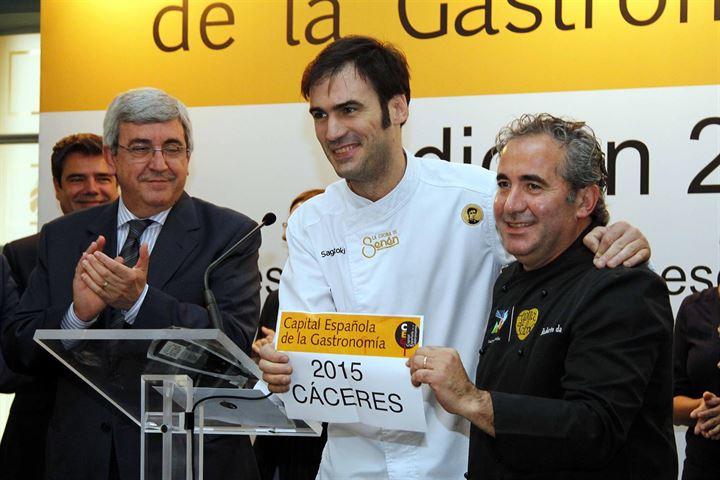 Cáceres elegida como la 'Capital española de gastronomía en 2015'