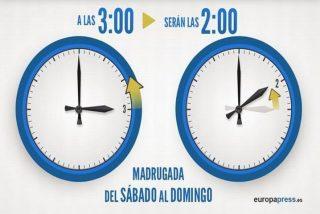 Vuelve el cambio de hora, esta madrugada a las 03.00 serán las 02.00