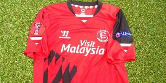 Así será la camiseta del Sevilla ante el Rijeka