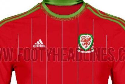 Los sorprendentes diseños de la camiseta de Gales