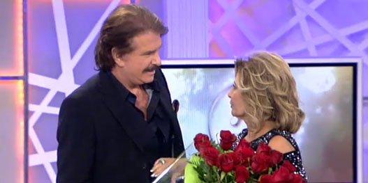 El doble juego de Mª Teresa Campos: cuida mucho de su intimidad, pero luego declara su amor a Bigote Arrocet en '¡QTTF!'