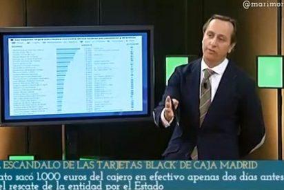 """Carlos Cuesta pone como trapos a los 'tar-jetas' de Caja Madrid: """"¡No se pagaban ni el bonobús!"""""""