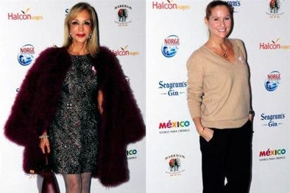 Carmen Lomana, Fiona Ferrer fanáticas de la moda en la pasarela de 'La Razón'