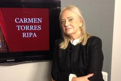 """Carmen Torres Ripa: """"La realidad del País Vasco es muy difícil, hemos vivido durante muchos años envueltos en el humo del terrorismo"""""""