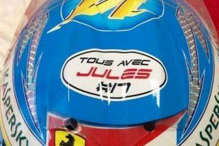 El mensaje que Alonso lucirá en su casco para Bianchi