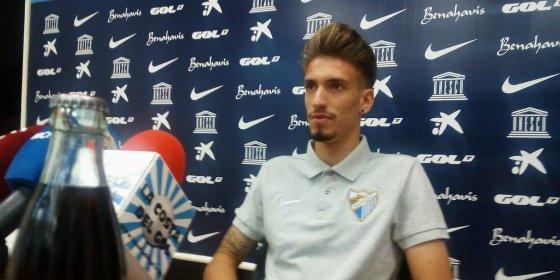 Twittea tras firmar con el Málaga hasta 2018
