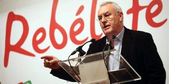 Cayo Lara dice que Izquierda Unida va a pelear para tener peso en Castilla-La Mancha