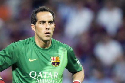 Claudio Bravo supera el récord de imbatibilidad y entra en la historia del Barça