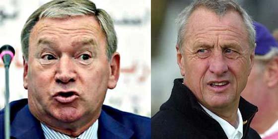 Cruyff y Clemente también entrenaron sin licencia