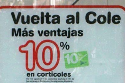 Los españoles gastaron una media de 337 euros en 'la vuelta al cole'