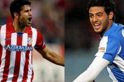 Diego Costa y Vela, candidatos al mejor delantero