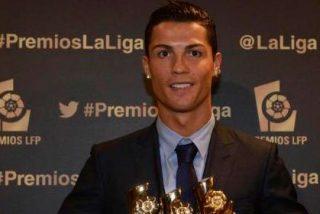 Hat-trick de Cristiano Ronaldo en la Gala de premios de la LFP