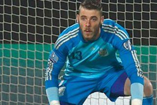 El tweet de De Gea tras hacer olvidar a Casillas ante Luxemburgo